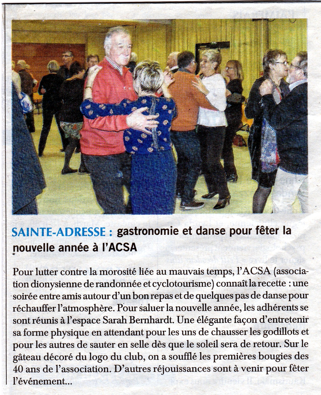 Article soiree de l acsa du 23 01 18