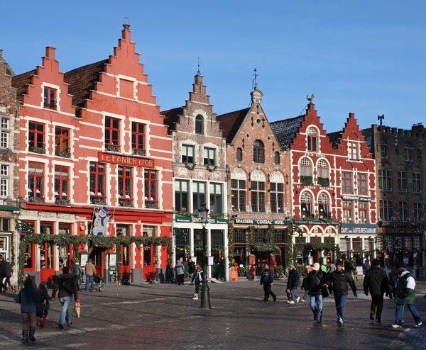 Projet vélo 2018 : Belgique Bruges