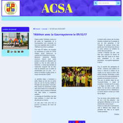 Journal échos de l'ACSA