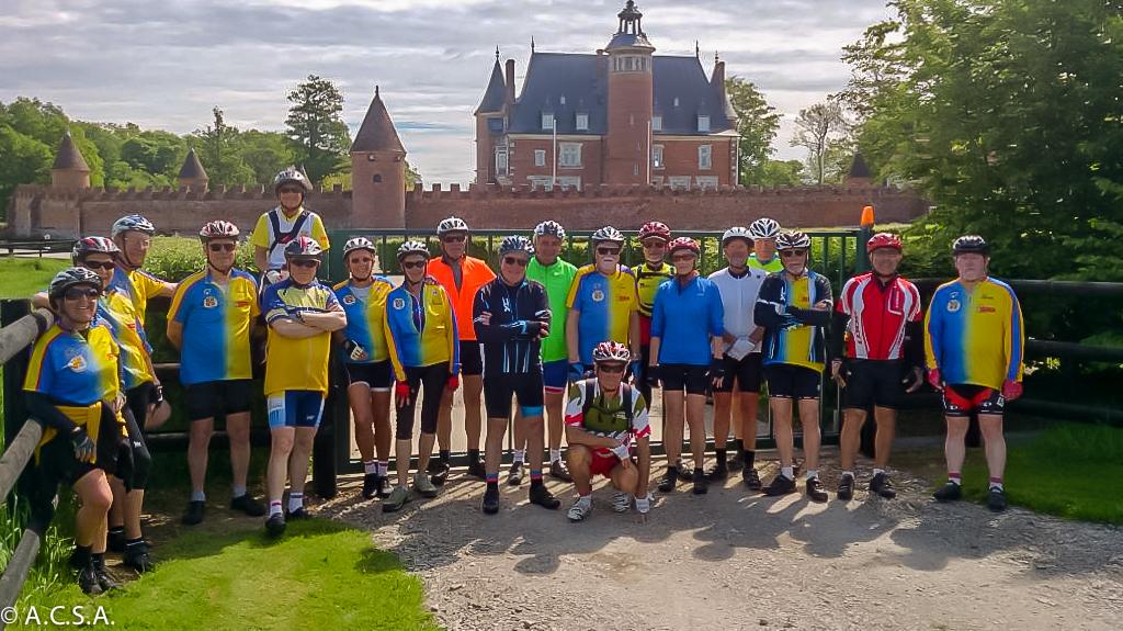 Journée cyclo à Bourgtheroulde